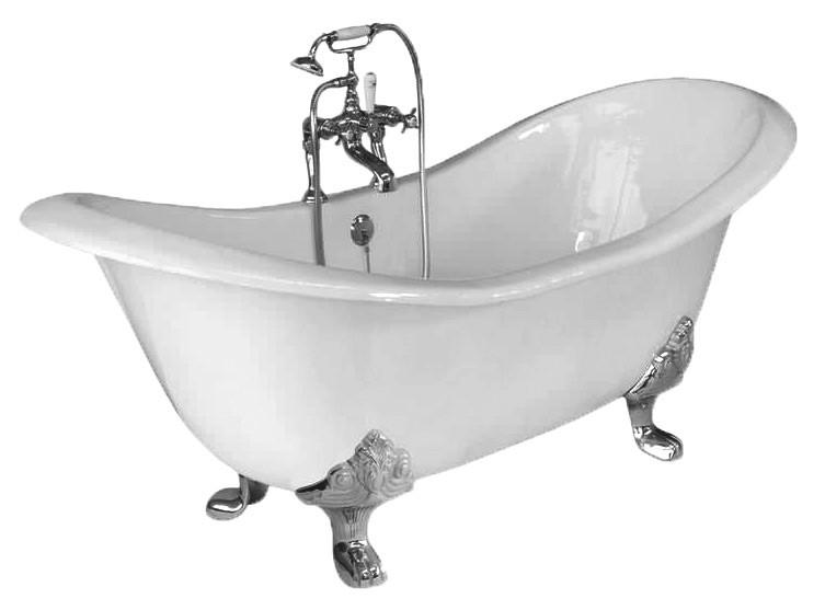 Badewanne nostalgie badewell for Badewanne gebraucht